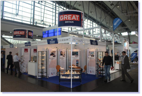The Precision Ceramics Stand at Hannover Messe 2014