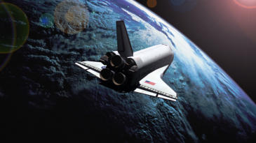 The US Space Shuttle Atlantis
