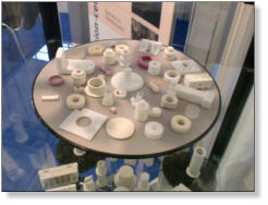 Technical Ceramics on display on the Precision Ceramics Stand at Ceramitec 2012