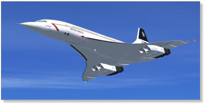 The British Aerospace Concorde