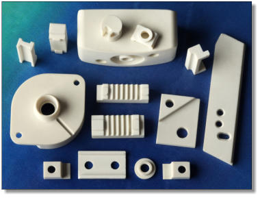 intricate Shapal Hi-M Soft Components designed and manufactured by Precision Ceramics.