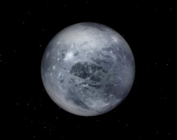 The First Ever Coloured Image Of Pluto Captured By NASA's New Horizons Probe