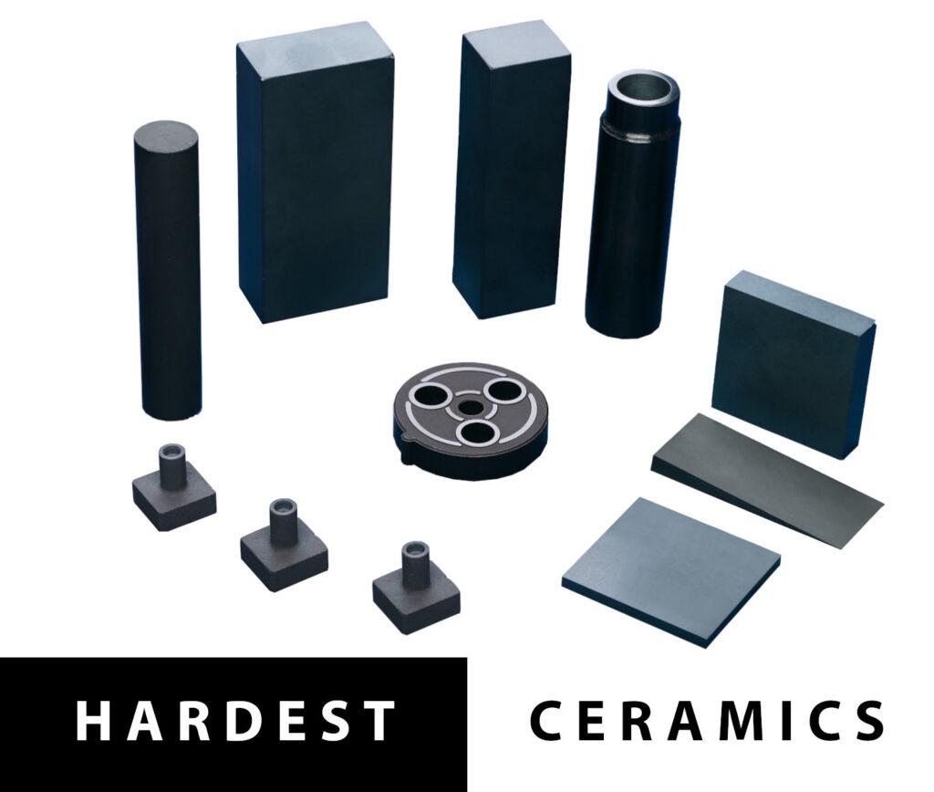 Comparison of Hardest and Toughest Technical Ceramics