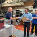 Colleagues Salute Long Service Employee
