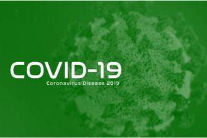 Coronavirus Background Image (Green)