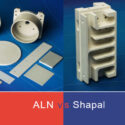 Aluminium Nitride (AlN) vs Machinable Aluminium Nitride (Shapal Hi-M Soft)